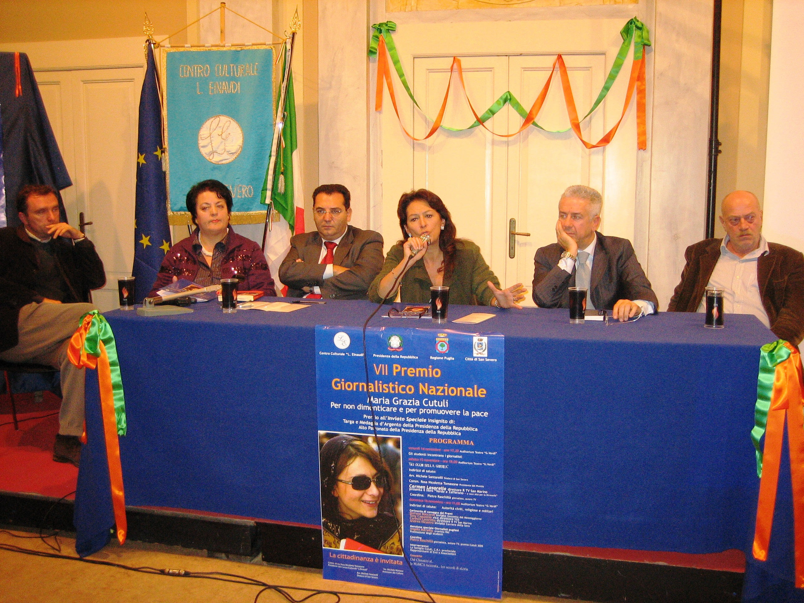 2008 tavolo di giornalisti