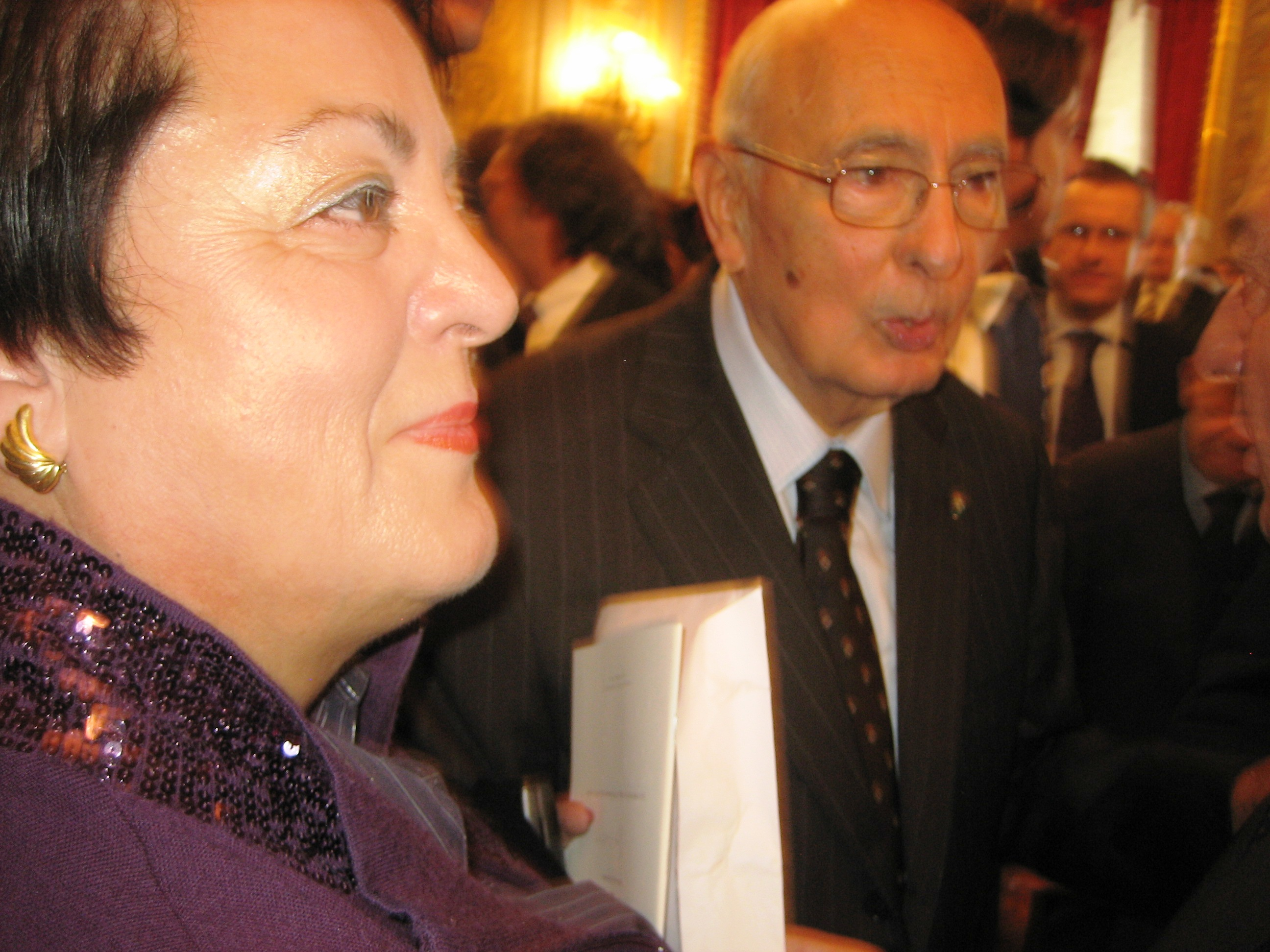 2009 Quirinale Presidente Giorgio Napolitano