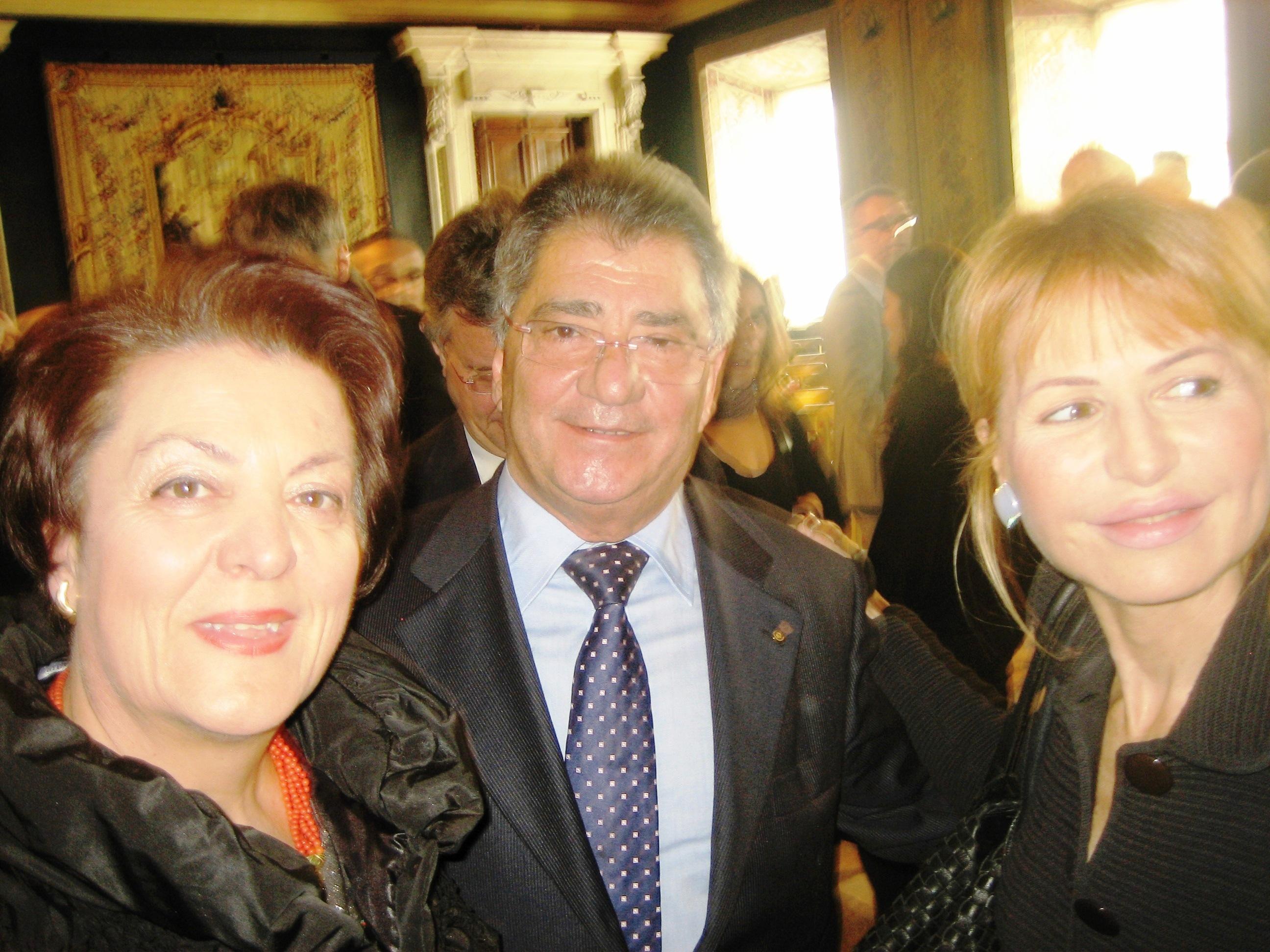 2011 Quirinale Lilli Gruber, G.Savino sindaco, Rosa Tomasone