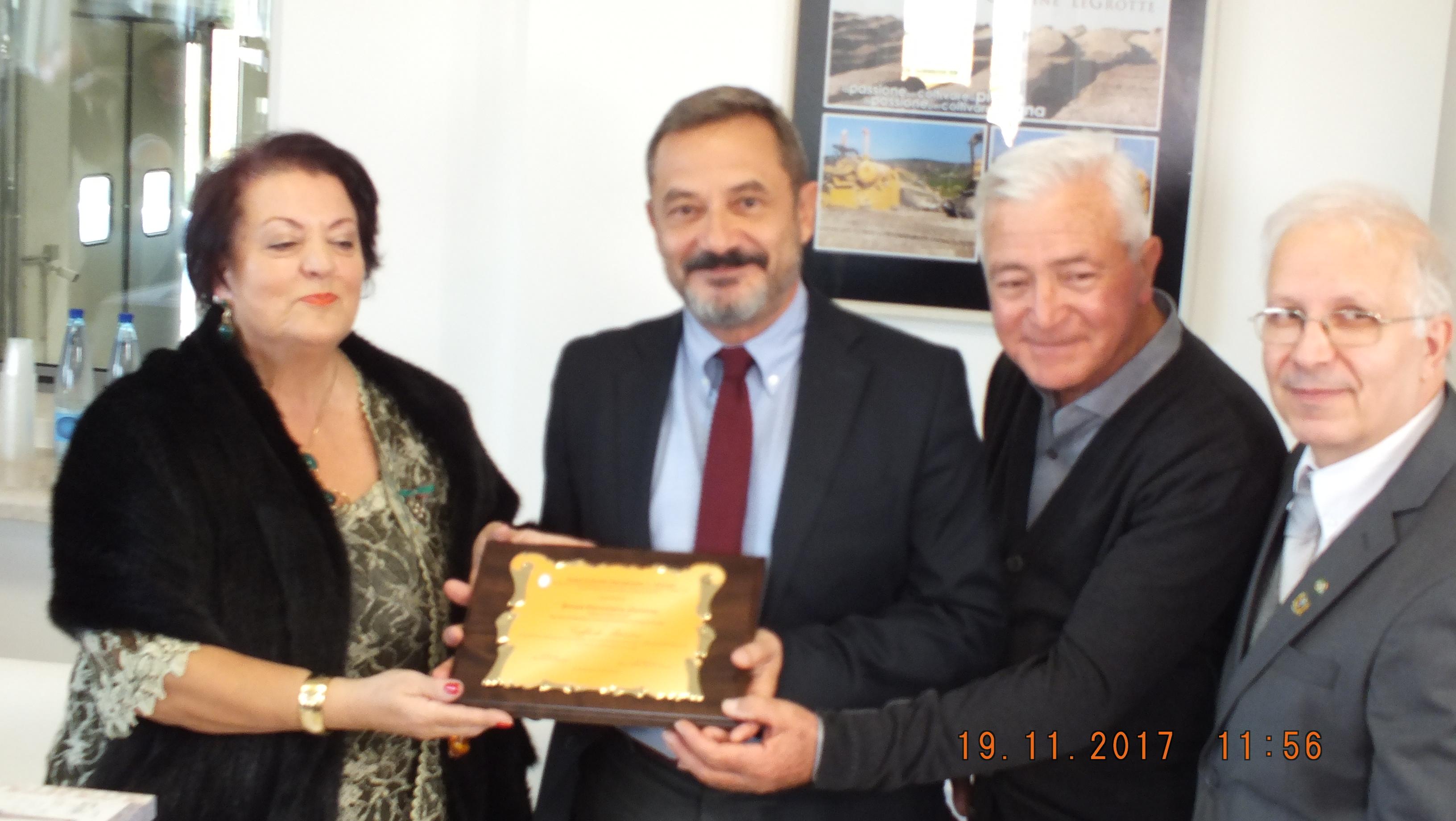 2017 riceve il premio G.Buccini