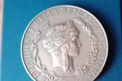 6 medaglia Presidente della Repubblica