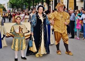 15 maggio: Il Corteo imperiale per le vie di San Severo