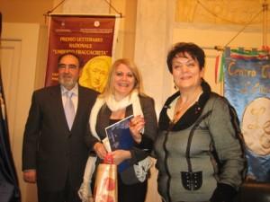 Premiata la saggista Rosa Maria Delli Quadri
