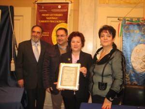 Premiata la poetessa Anna Maria Longo