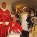Carlo V e Paolo III a cena...